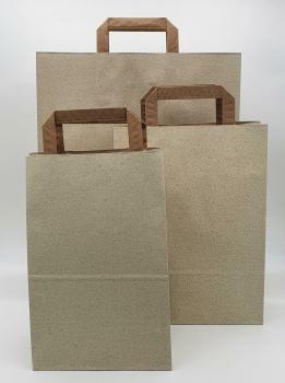 Graspapiertasche, groß